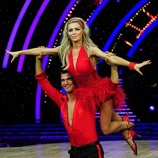 Abbey Clancy and Aljaz Skorjanec won the Strictly glitterball trophy