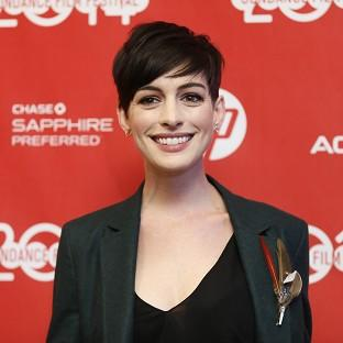 Anne Hathaway's new film, Song One, premiered at the Sun