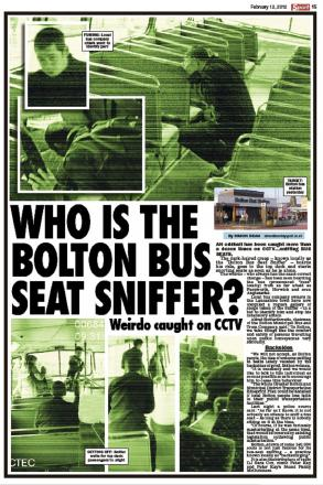 The bogus Bolton bus seat sniffer