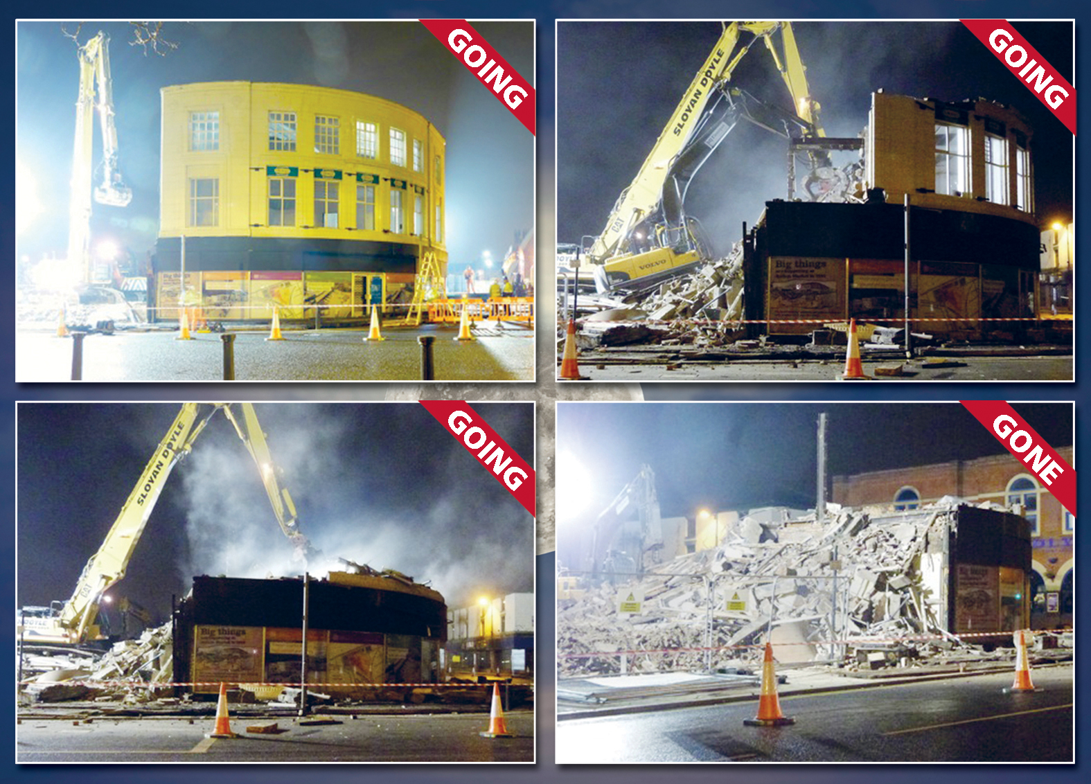 Last building demolished to make way for new Bolton interchange