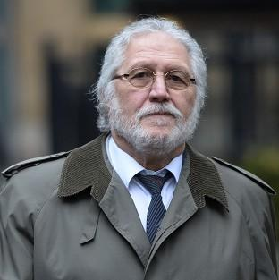 Former DJ Dave Lee Travis arrives at Southwark Crown Court i