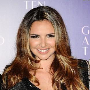 This Is Lancashire: Nadine Coyle is due to become a mum next month