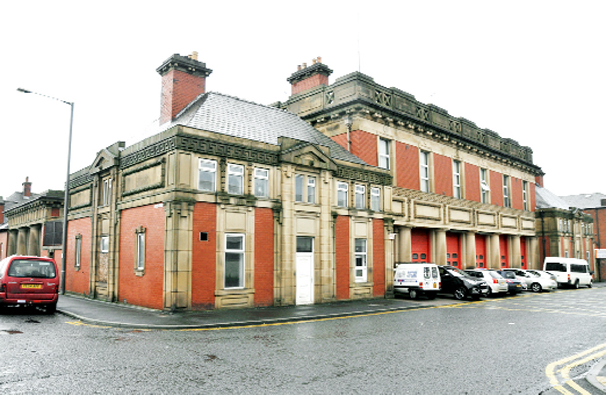 Blackburn fire station fears as vandals strike