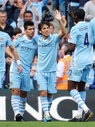 David Silva has starred for Manchester City from the right