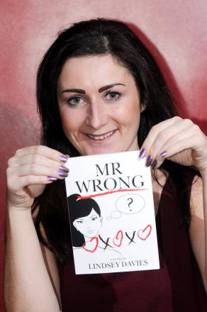 Stand up comic writes first novel about her Mr Wrong