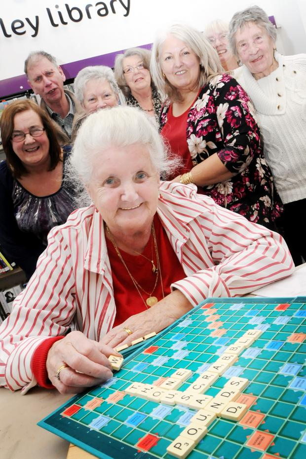 This Is Lancashire: Fight to save library helped - by a scrabble club