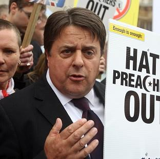 This Is Lancashire: BNP leader Nick Griffin reportedly has links with Hungarian party Jobbik