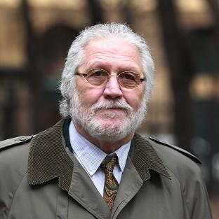 Dave Lee Travis arrives at Southwark Crown Court in London