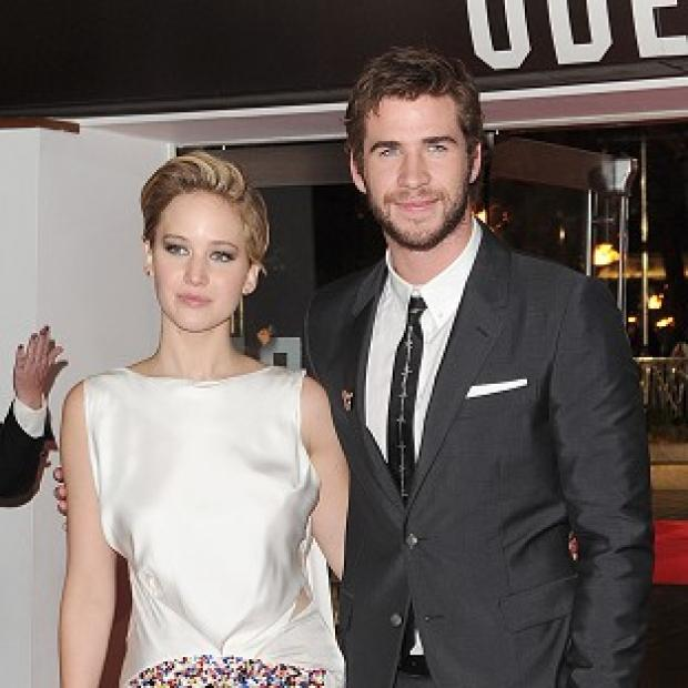 This Is Lancashire: Jennifer Lawrence and Liam Hemsworth have been out partying in Atlanta