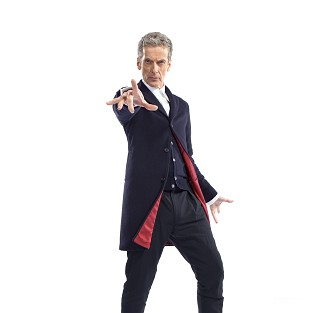 Doctor Who star Peter Capaldi has been filming in Cardiff
