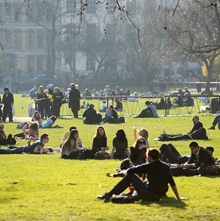A lack of green space is being blamed for health problems