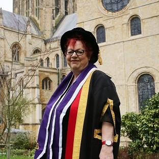 Jo Brand has been awarded an honorary doctorate for her work in mental h