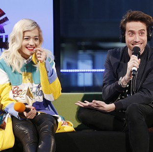 Rita Ora told Nick Grimshaw she is currently homeless
