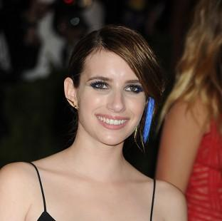 This Is Lancashire: Emma Roberts recently got engaged to Evan Peters