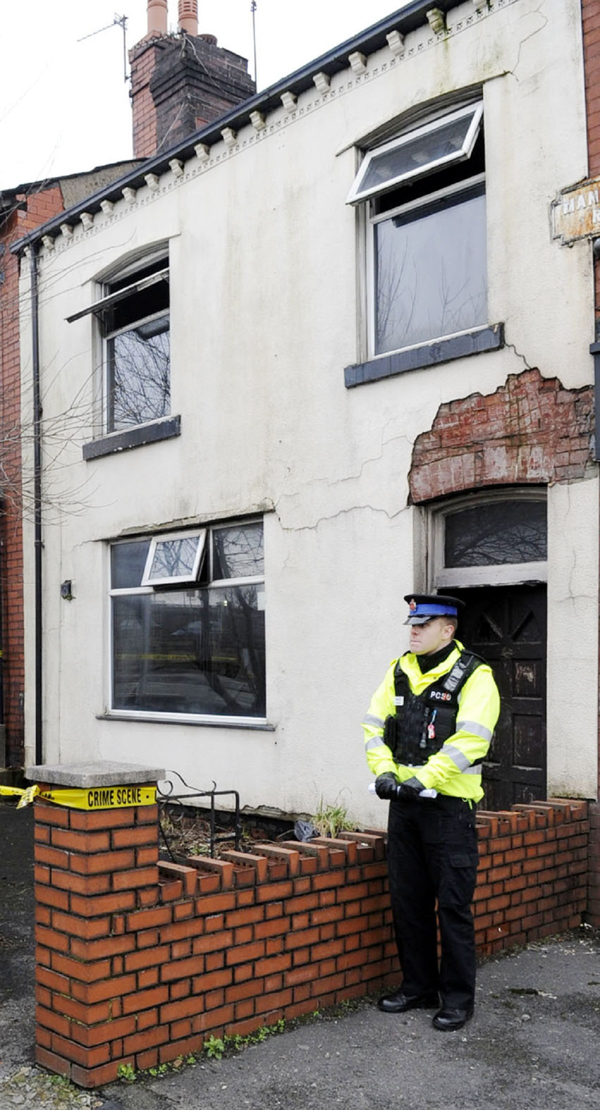 Investigation after squatter's death in Manchester Road house fire