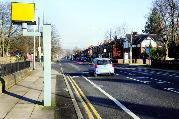 The speed camera in Bolton Road, Elton, recorded a driver speeding at 93mph in the 30mph zone