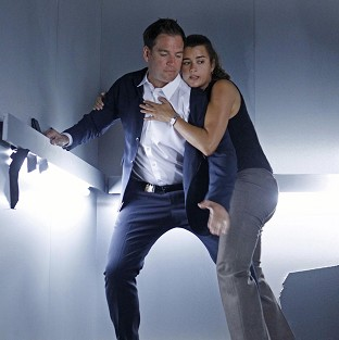 Michael Weatherly and Cote de Pablo star in NCIS