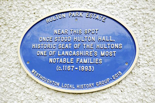 The council plans to honour Blackburn's great and good with plaques similar to this one