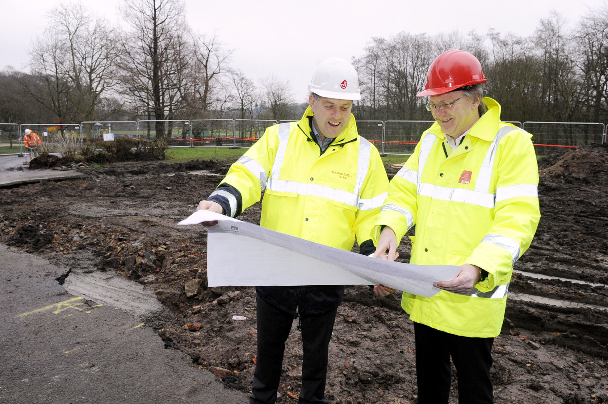 Work starts on £500,000 new cafe at Moss Bank Park