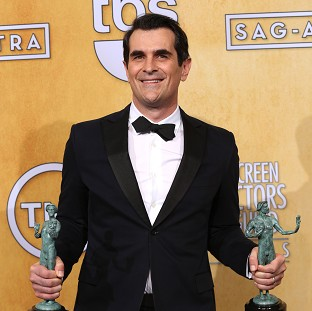 Ty Burrell voices the dog in Mr Peabody And Sherman