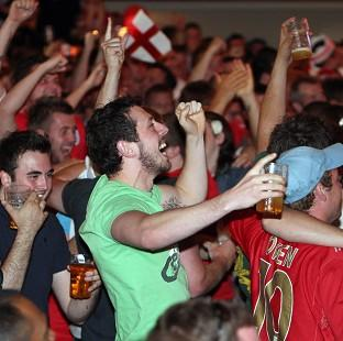 This Is Lancashire: England supporters may get the chance to watch the Italy game in the pub after all.