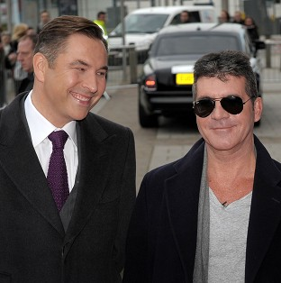 David Walliams came to Simon Cowell's aid when he started choking