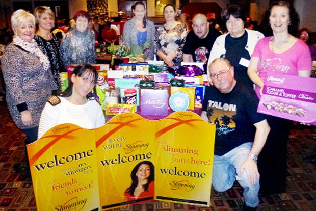 Chocs away as slimmers boost hospice coffers in Burnley