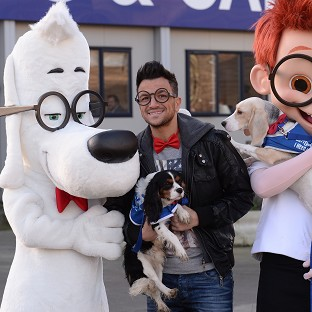 Peter Andre's song is featured in DreamWorks' new animation, Mr Peabody And Sherman