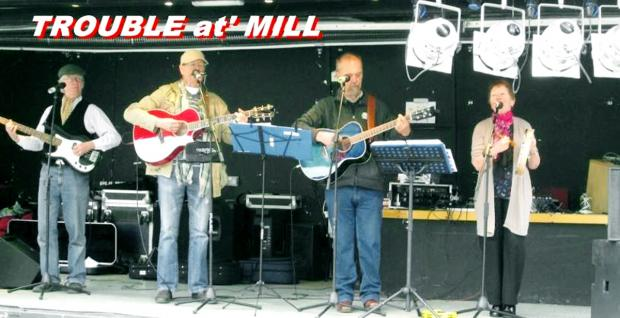 COMMUNITY CENTRE GIG: Trouble At' Mill play on February 7
