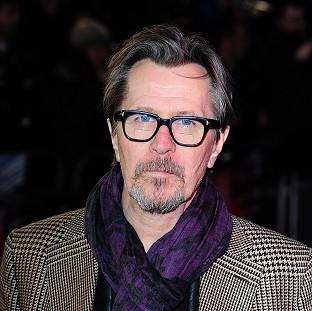 This Is Lancashire: Gary Oldman arrives at the premiere of RoboCop