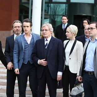 This Is Lancashire: Coronation Street actor William Roache and his family outside court