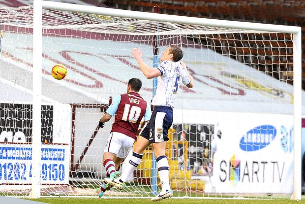 Danny Ings scores against Millwall Picture: ANDY FORD
