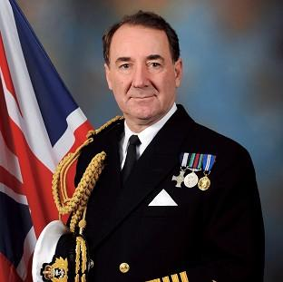 This Is Lancashire: Admiral Sir George Zambellas, the First Sea Lord (MoD/PA)