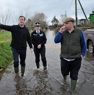 Troops on standby in floods alert
