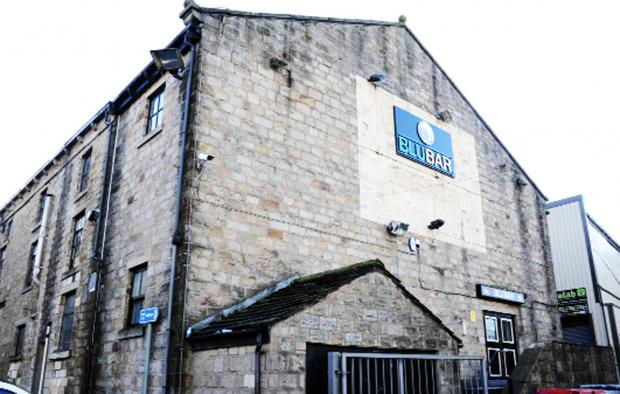 The Blu Bar, Burnley, is at the centre of a row of public order