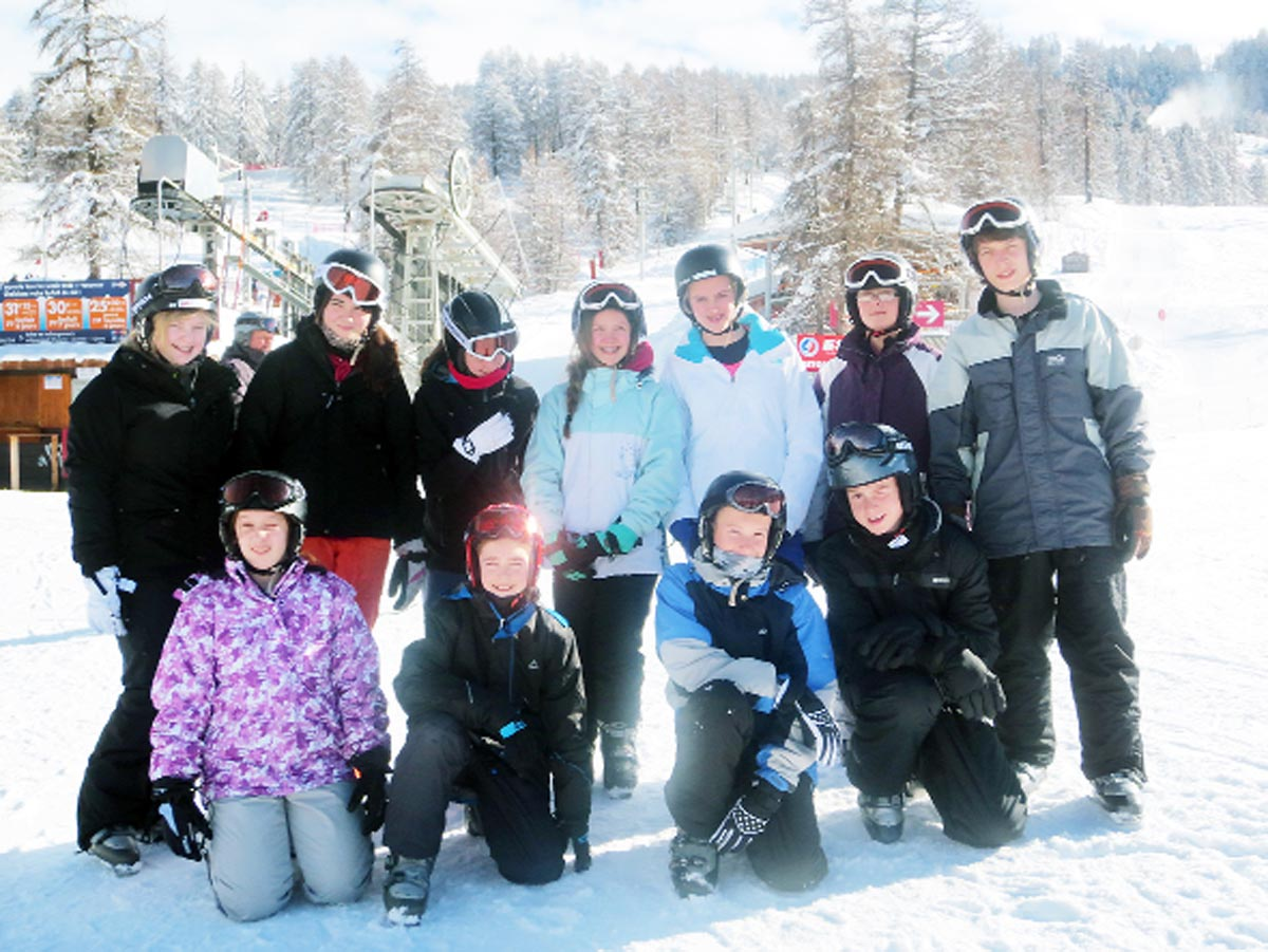 Albany Acacdemy students hit the slopes