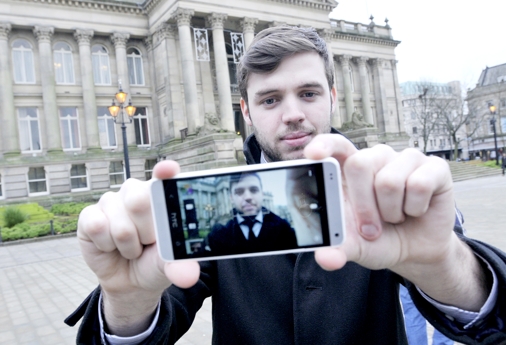 You've heard of the selfie - now try the new Bolton craze: the 'bolfie'