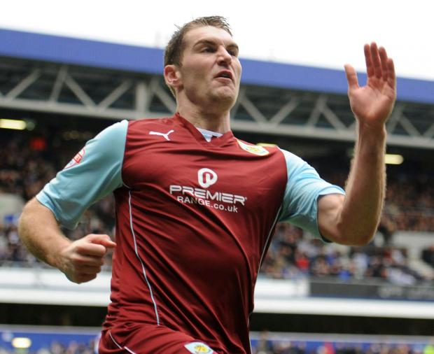 Vokes ruptured the anterior cruciate ligament in his left knee during the Clarets' 2-0 home loss to Leicester City
