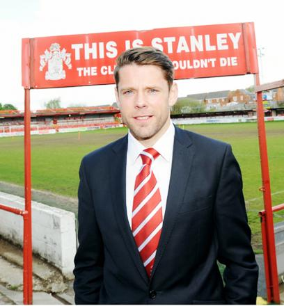 James Beattie's Accrington Stanley drew last night