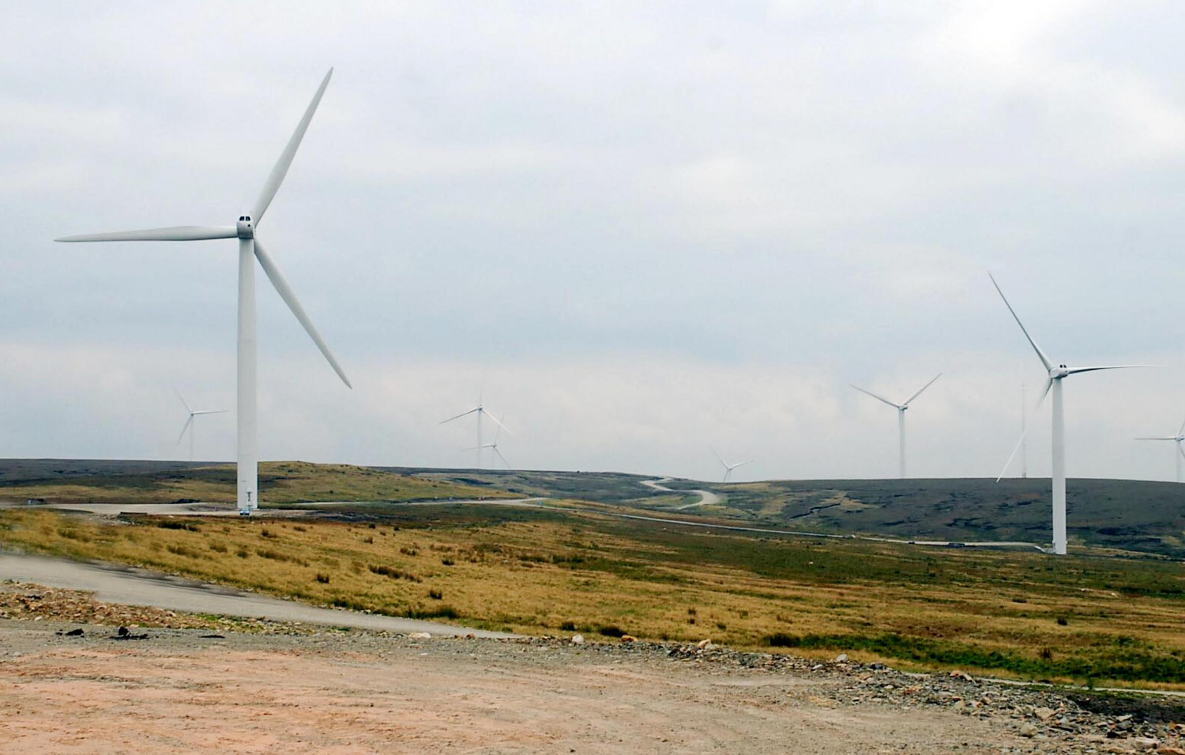The Scout Moor wind farm already has 26 turbines