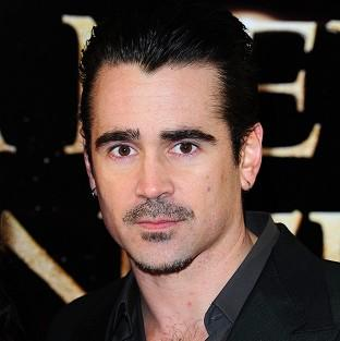 Colin Farrell at the premiere of A New York Winter's Tale at London's Odeon Kensington