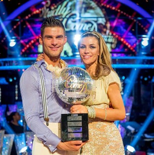 This Is Lancashire: Abbey Clancy and her dance partner Aljaz Skorjanec were crowned Strictly Come Dancing champions