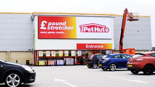The new Poundstretcher store