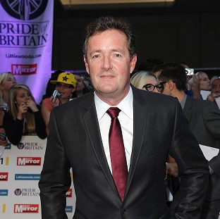 Piers Morgan was questioned as part of the phone hacking investigation
