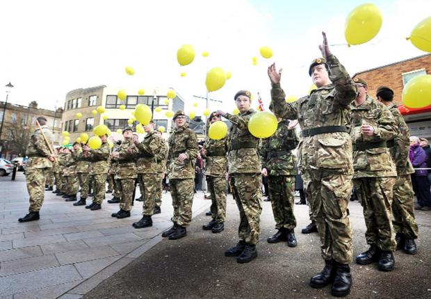 Accrington Pals memorial programme launched in style