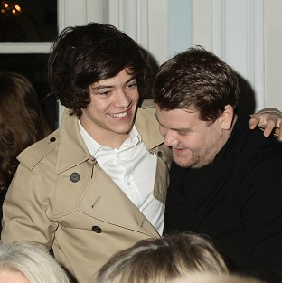 James Corden is impressed with his young pal Harry Styles