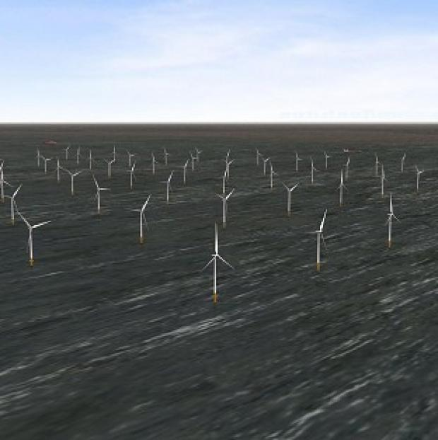 This Is Lancashire: London Array's wind farm is the biggest of its kind in the world (PA/London Array)