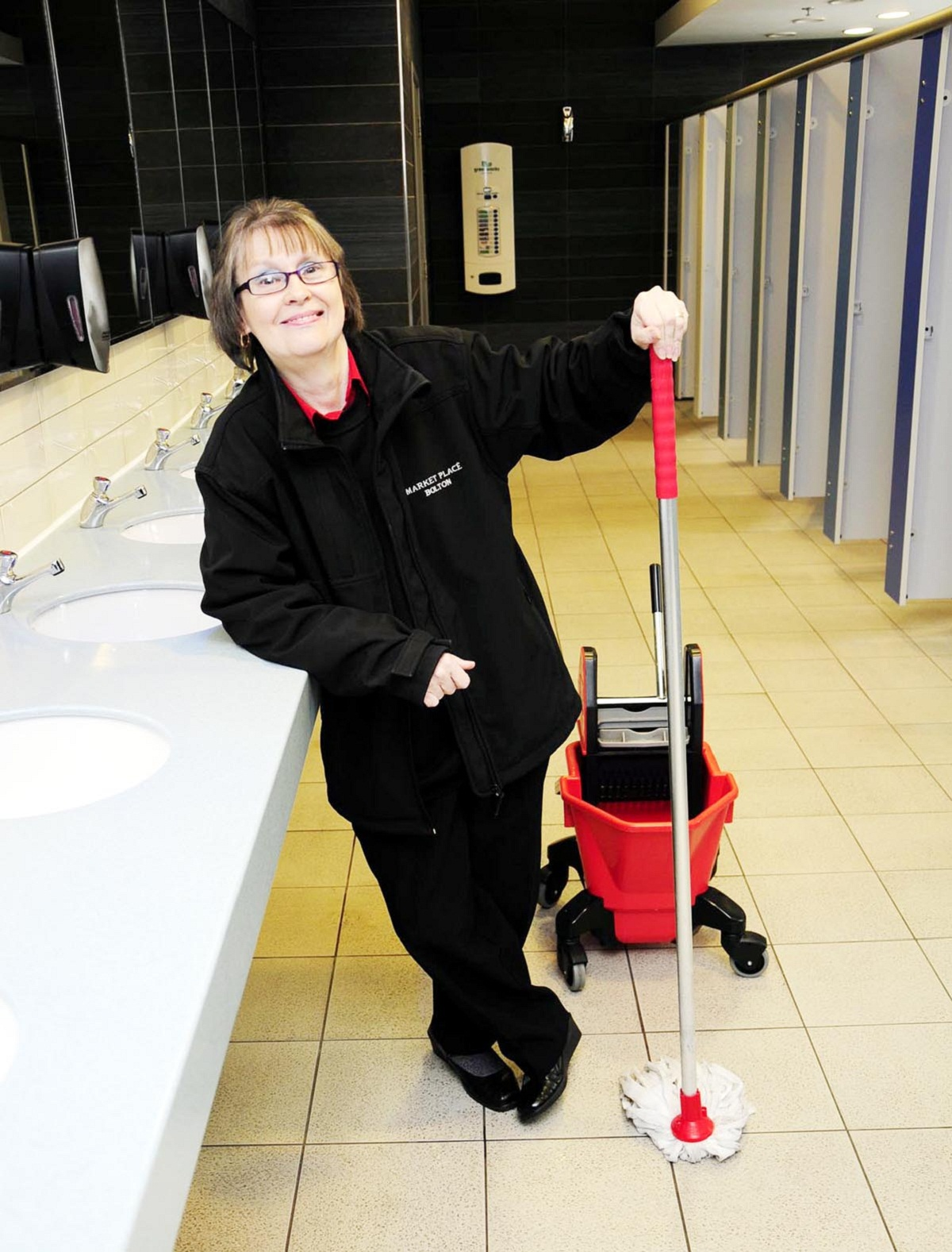 Bolton's best toilet cleaner retires after 27 years