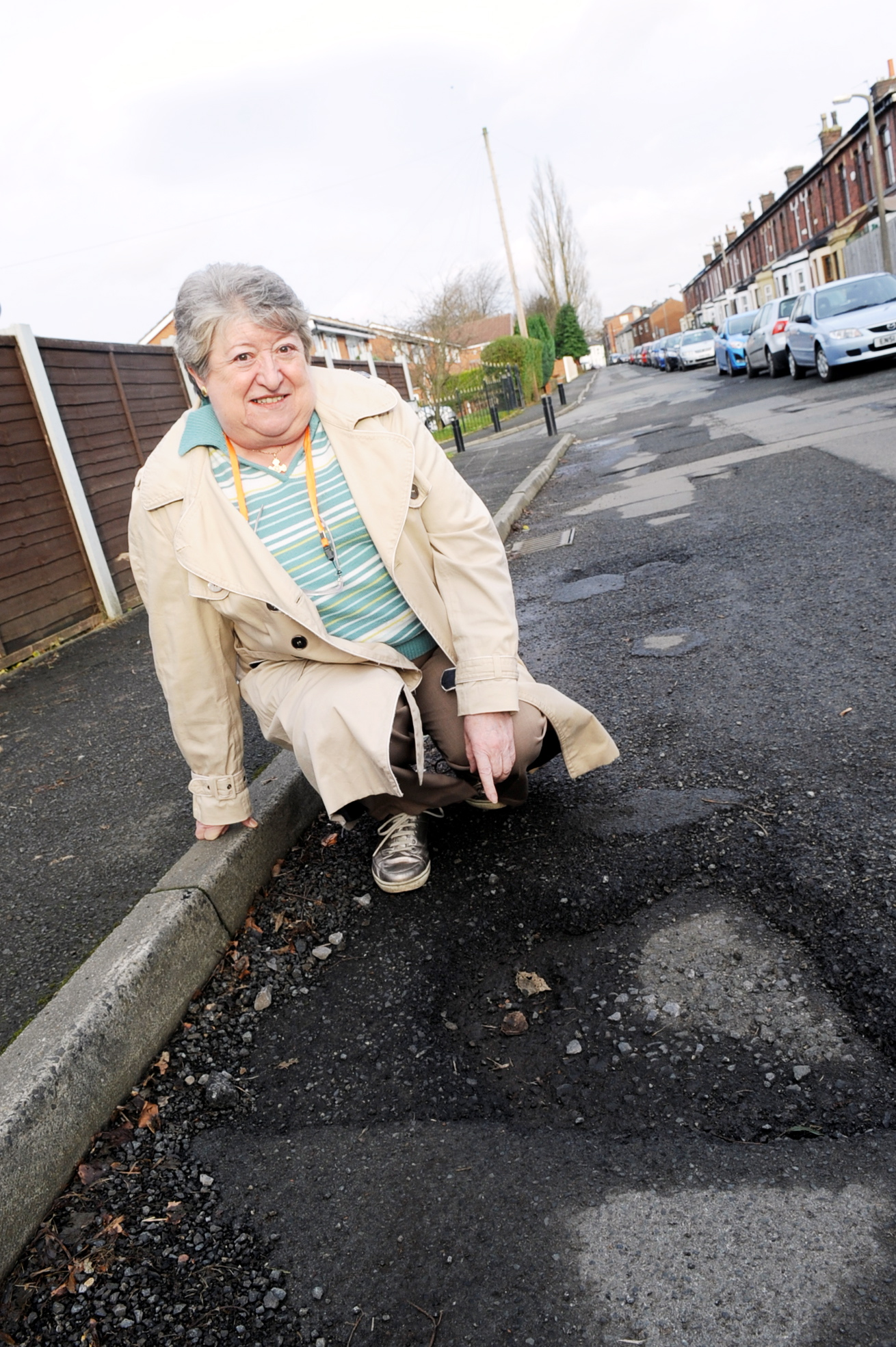 Good news for residents after pothole repairs stoppe