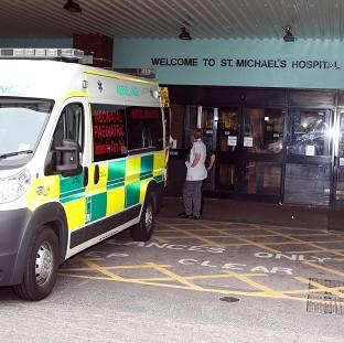 Baby Rohan Rhodes was moved to St Michael's Hospital in Bristol to be assessed for a heart operation